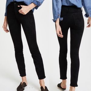 MOTHER NWT High Waisted The Looker Faux Suede